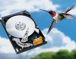 Первый гибридный дисковод Seagate для ноутбуков, Momentus 5400 PSD, поставляется вместе сфлэш-памятью емкостью 256 Мбайт ивращается всего 10% своего рабочего времен