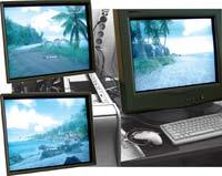 Некоторые артефакты в игре Crysis DX10 через объектив фотоаппарата