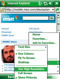 Обновленный браузер IE Mobile будет поддерживать форматы Adobe Flash иMicrosoft Silverligh