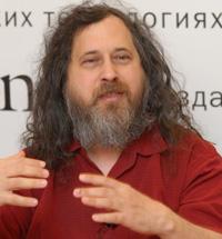 Ричард Столлман за любимым делом – пропагандой свободного программного обеспечения