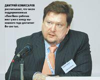 Дмитрий Комиссаров рассчитывает, что число поддерживаемых «ПингВин» рабочих мест уже к концу нынешнего года достигнет 80-100 тыс.