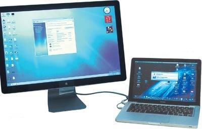 Бета-версия Windows 7 в полноэкранном режиме на втором мониторе
