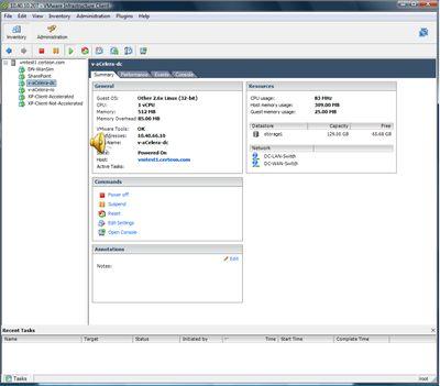Vmware ESX помогает автоматически масштабировать и резервировать необходимые aCelera ресурсы; выделяя aCelera дополнительные виртуальные машины, может наращивать возможности ускорения