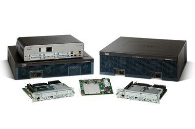 В маршрутизаторах ISR второго поколения применяются специализированные процессоры для обработки видеосигналов.
