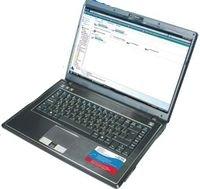 Компания Rover Computers позиционирует свой аппарат как ноутбук для бизнесменов. Впринципе так оно иесть— черный угловатый корпус, полное отсутствие модных «финтифлюшек», невысокая стоимость имощная начинка