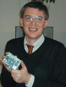 Платформа VIA EPIA PX в руках Ричарда Брауна, вице-президента VIA
