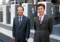 Наохира Каваками и исполнительный директор по международным продажам Тошихико Кавашима