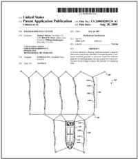 В заявке на патент представлена модульная конструкция, состоящая из поднимаемых краном морских контейнеров скомпьютерными стойками