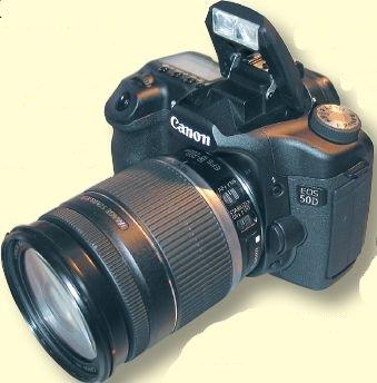 Модель EOS 50D позволяет снимать до 6кадр/с с разрешением 15 Мпикс