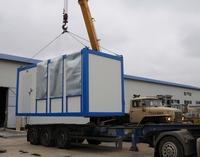 В обычном 20-футовом контейнере размещаются необходимые инженерные системы ЦОД и до шести аппаратных стоек.