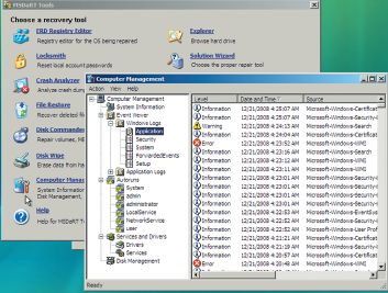 Утилита Computer Management