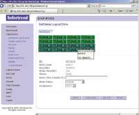 Рисунок 2. По желанию администрирование системы хранения осуществляется либо через инструмент RAID Watch, либо через простой в управлении интерфейс браузера.
