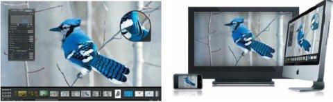 Поддержка технологии Aperture популярными гаджетами iPhone и iPod, программами iLife и iWork делает возможным перенос и использование библиотеки изображений где угодно
