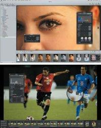 Наибольшая эффективность в полноэкранном режиме, когда пользователь остаётся наедине с изображением. Дополнительные функции вызываются клавиатурными сокращениями, можно воспользоваться всплывающими панелями