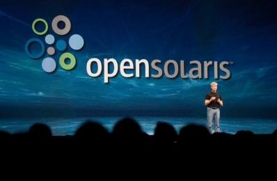 Ричард Грин, глава Sun Software, представляет OpenSolaris на конференции CommunityOne