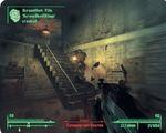 Типичный бой в Fallout 3