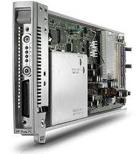 В одной стойке можно разместить разместить 280 лезвий HP BladeSystem bc2800 или bc2200
