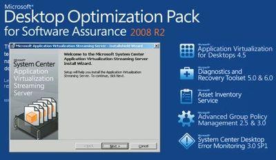 Мастер установки Application Virtualization Streaming Server