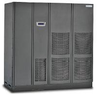 Рисунок 3. ИБП Eaton Poweware 9395 мощностью 825 кВА/742 кВт с КПД более 94,5% в режиме двойного преобразования предусматривает наращивание мощности по технологии Hot Sync. Продукт разработан с учетом растущих потребностей ЦОД. Для увеличения мощности или обеспечения избыточного резервирования по схеме N+1 к системе можно подключать дополнительные модули. В «экономичном режиме» Energy Saver System (ESS) с прямым питанием нагрузки КПД достигает 99%. На североамериканском рынке ИБП Eaton Powerware 9395 присуждена награда 2008 Frost&Sullivan Product Innovation Award за надежность, производительность и технические характеристики.