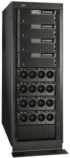 Лидер продаж, сервер среднего класса IBM Power 570, отныне поставляется с процессором Power6, работающим на тактовой частоте 5 ГГц