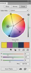 Рис. 10. Kuler предложит гармоничные цветовые решения