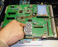 Сразу несколько производителей полупроводниковых компонентов, втом числе Freescale, Marvell, NEC Electronics, Qualcomm иTexas Instruments, продемонстрировали вБарселоне прототипы телефонов на базе Android
