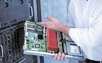 Рисунок 2. Модульным серверам может потребоваться охлаждение мощностью до 25 кВт на стойку.