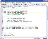 Редактор Jedit прост, удобен и работает везде, где есть Java