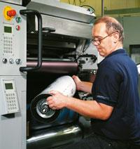 Простая процедура смены офсетной печатной формы
