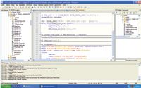 Notepad++ использует ту же технологию, что и SciTE, но набит дополнительными функциями