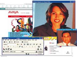 Интерфейс видеосвязи в программном телефоне Avaya IP Softphone