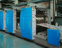 Рулонная офсетная машина для выпуска упаковочной и этикеточной продукции