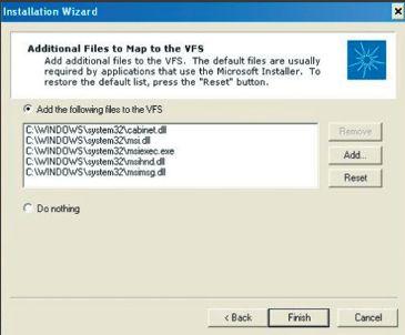 Экран 3. Добавление файлов в виртуальную файловую систему