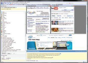 Intel Mash Maker требует установки дополнения к браузеру и демонстрирует элементы «семантического веба»