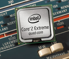 По прогнозам Intel, втретьем квартале 2008 года произойдет всеобщее переключение отрасли на новую технологию: количество используемых 45-нанометровых процессоров превысит число процессоров предыдущего поколения