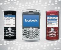 Facebook for BlackBerry— одно из самых популярных приложений для BlackBerry; за год смомента его выпуска число загрузок превысило 2,5 млн