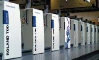 Еще до начала выставки на Roland 700 DirectDrive был установлен мировой рекорд по количеству отпечатанных за сутки тиражей