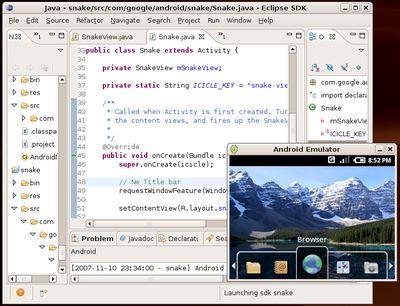 Набор средств разработчика для Android на основе инструментов разработки Java-приложений доступен уже сейчас