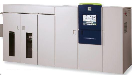 ЦПМ Xerox 650/1300 CF (Continuous Feed, с непрерывной подачей) относится к бесконтактному типу— не нагревает бумагу и не применяет к ней давление