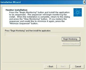 Экран 1. Диалоговое окно Monitor installation для приведения к последовательному виду Acrobat Reader