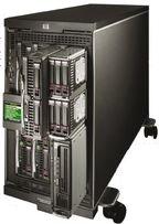 Основа VirtuOffice — шасси HP BladeSystem c3000