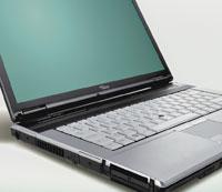 Интересной конструктивной особенностью моделей E8310 иE8410 является клавиатура, частично защищенная от случайного проливания жидкости. По ее периметру конструкторы расположили специальный желоб, который не дает пролитой воде попасть внутрь корпуса ноутбука