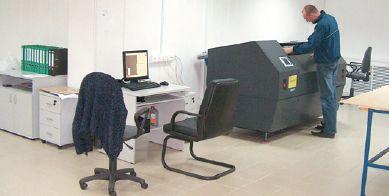На системе CtFP EskoArtwork CDI Spark 4835 специалисты фирмы выводят большую часть всех заказываемых флексографских форм. Аналоговый процесс применяется лишь при изготовлении пластин большой толщины