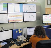 В центре удаленного мониторинга для каждого объекта информационной системы формируется определенный набор параметров и контролируются их граничные значения