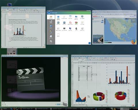 По своему графическому пользовательскому интерфейсу редакция Linux XP Home Edition максимально приближена к Windows Vista