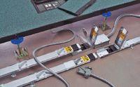 Рисунок 10. Модульная система MK Electric Cablelink Plus представляет собой быстро собираемый и разбираемый «конструктор», состоящий из модульных элементов для подачи электропитания на рабочие места, а также сервисов передачи данных и аудио/видео.