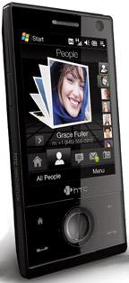 Главное отличие нового, «бриллиантового» HTC Touch от предыдущих версий— поддержка мобильных сетей третьего поколения