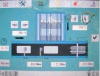 В управлении линией используются сенсорный дисплей и ручные регулировки