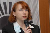 Анна Лавринова заострила противоречие: 20% членов НП ППП считает, что Internet-пиратство наносит основной вред бизнесу, и только 9% занимается закрытием сайтов с нелицензионными программами