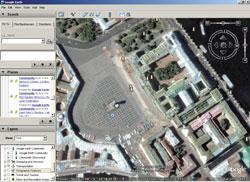 Google Earth: Санкт-Петербург, Дворцовая площадь
